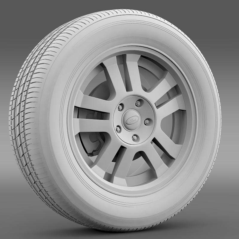 ford_mustang gt 2005 wheel 3d model 3ds max fbx c4d lwo ma mb hrc xsi obj 139838