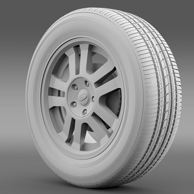 ford_mustang gt 2005 wheel 3d model 3ds max fbx c4d lwo ma mb hrc xsi obj 139839