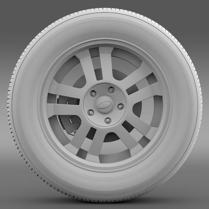 ford_mustang gt 2005 wheel 3d model 3ds max fbx c4d lwo ma mb hrc xsi obj 139840