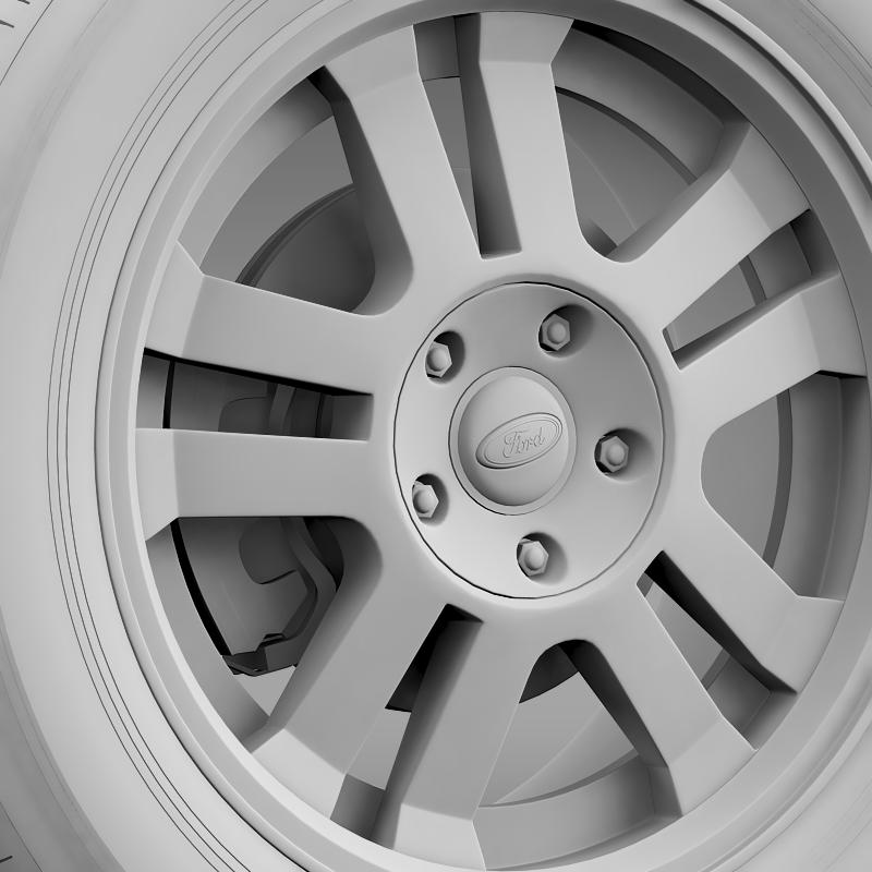 ford_mustang gt 2005 wheel 3d model 3ds max fbx c4d lwo ma mb hrc xsi obj 139841