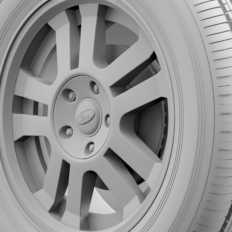 ford_mustang gt 2005 wheel 3d model 3ds max fbx c4d lwo ma mb hrc xsi obj 139842