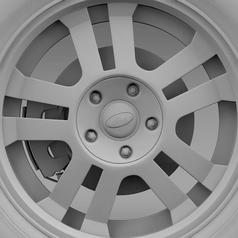 ford_mustang gt 2005 wheel 3d model 3ds max fbx c4d lwo ma mb hrc xsi obj 139843