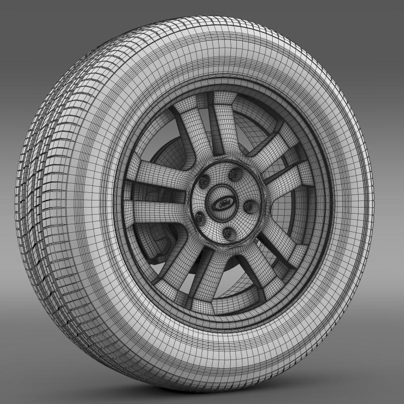 ford_mustang gt 2005 wheel 3d model 3ds max fbx c4d lwo ma mb hrc xsi obj 139844