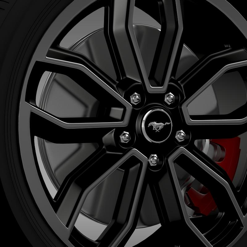 ford_mustang gt 2013 wheel 3d model 3ds max fbx c4d lwo ma mb hrc xsi obj 139848