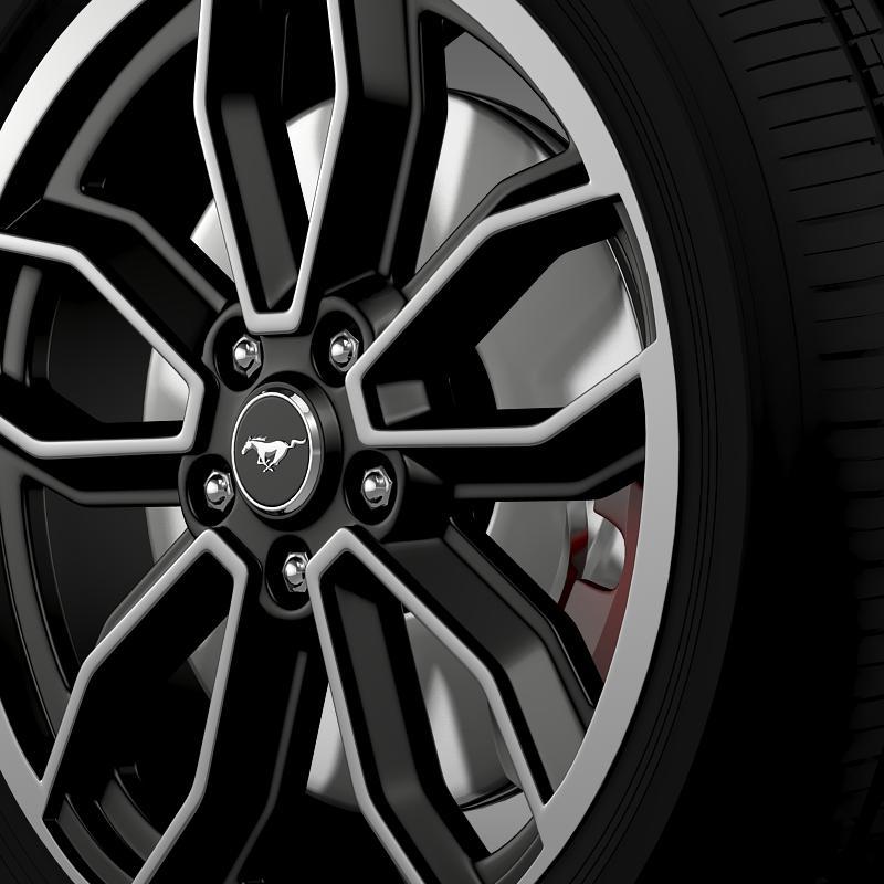 ford_mustang gt 2013 wheel 3d model 3ds max fbx c4d lwo ma mb hrc xsi obj 139849