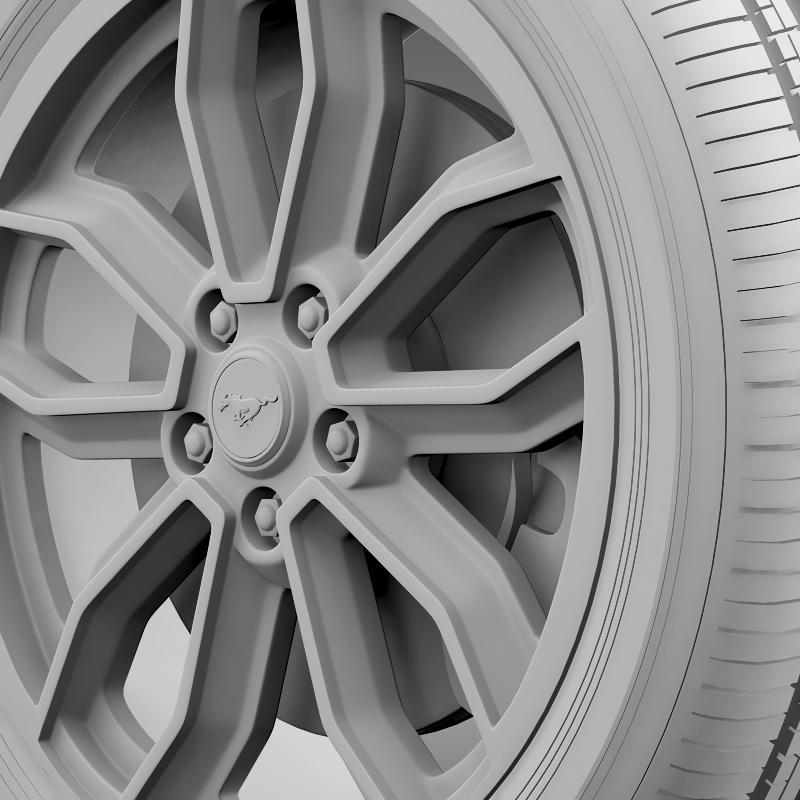 ford_mustang gt 2013 wheel 3d model 3ds max fbx c4d lwo ma mb hrc xsi obj 139855