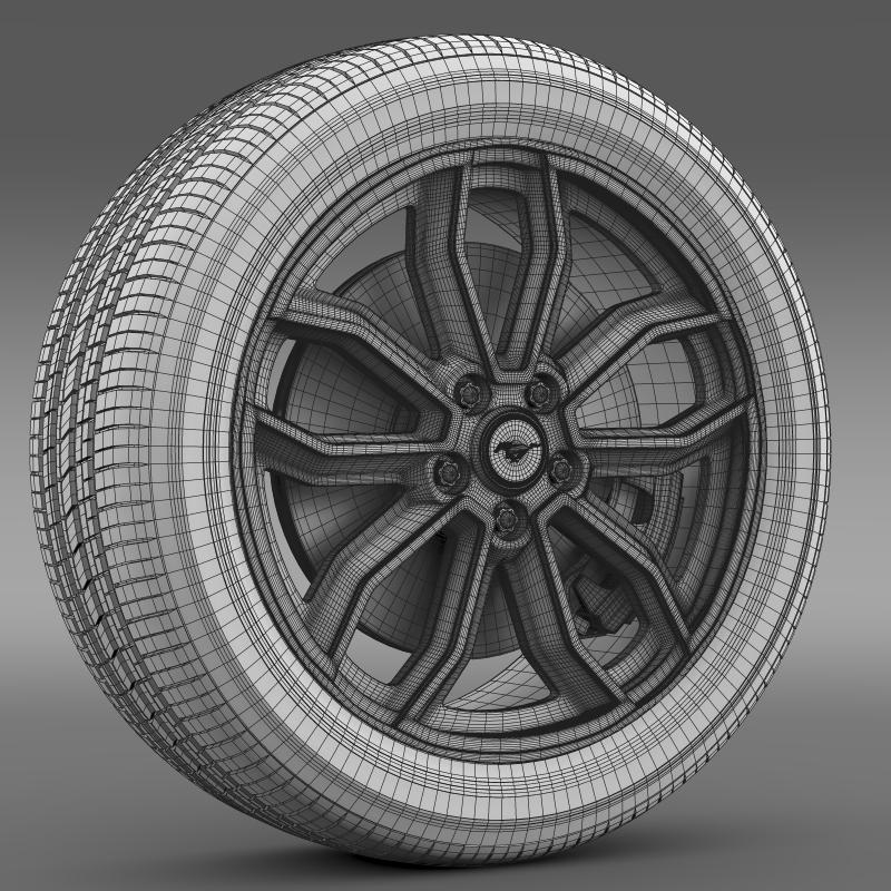 ford_mustang gt 2013 wheel 3d model 3ds max fbx c4d lwo ma mb hrc xsi obj 139857