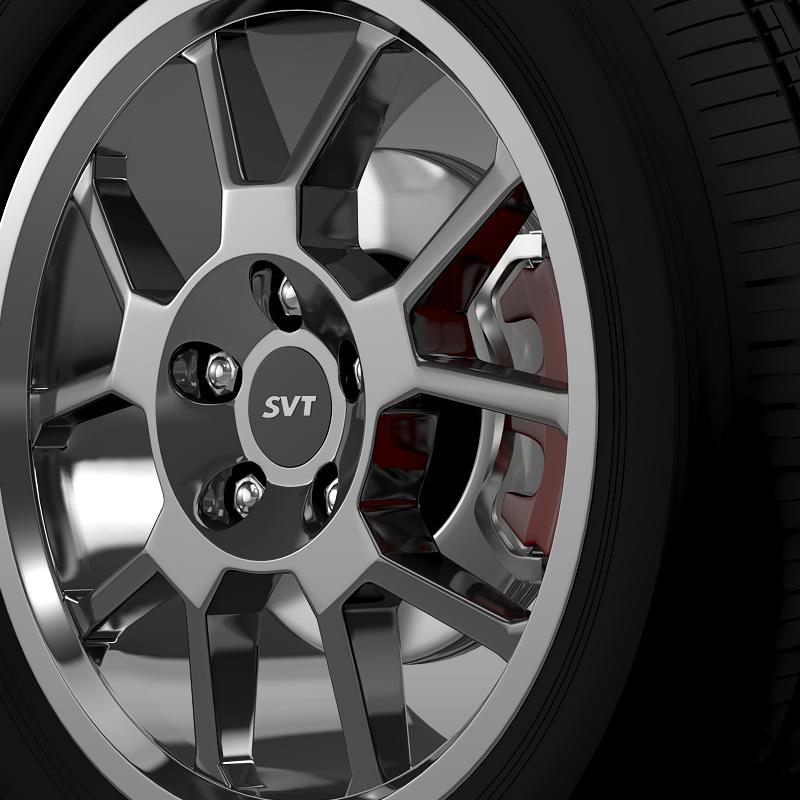ford_mustang gt500 shelby 2007 wheel 3d model 3ds max fbx c4d lwo ma mb hrc xsi obj 139823