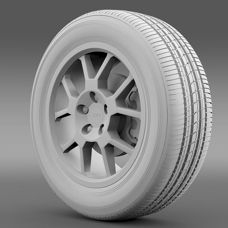 ford_mustang gt500 shelby 2007 wheel 3d model 3ds max fbx c4d lwo ma mb hrc xsi obj 139826