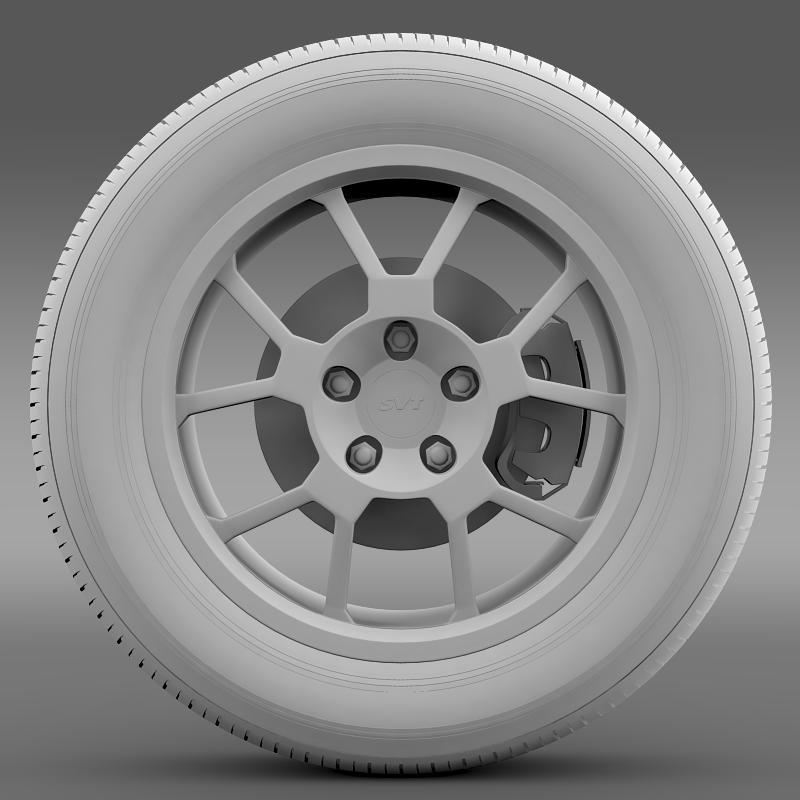 ford_mustang gt500 shelby 2007 wheel 3d model 3ds max fbx c4d lwo ma mb hrc xsi obj 139827