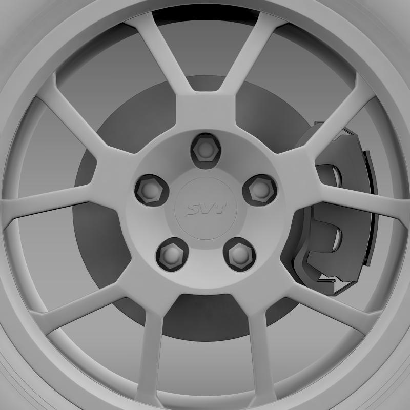 ford_mustang gt500 shelby 2007 wheel 3d model 3ds max fbx c4d lwo ma mb hrc xsi obj 139830