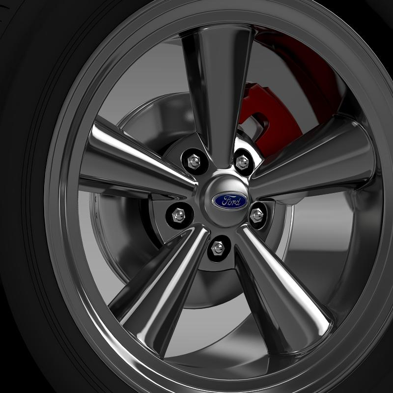 ford_mustang gth 2006 wheel 3d model 3ds max fbx c4d lwo ma mb hrc xsi obj 139861