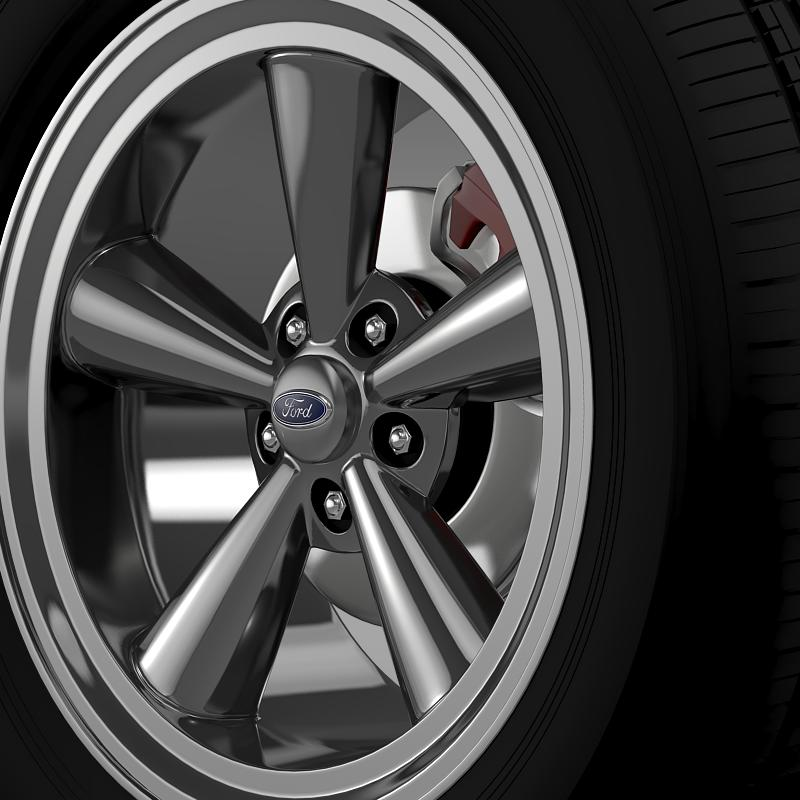 ford_mustang gth 2006 wheel 3d model 3ds max fbx c4d lwo ma mb hrc xsi obj 139862