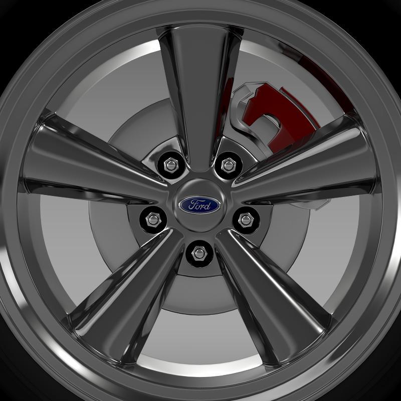 ford_mustang gth 2006 wheel 3d model 3ds max fbx c4d lwo ma mb hrc xsi obj 139863