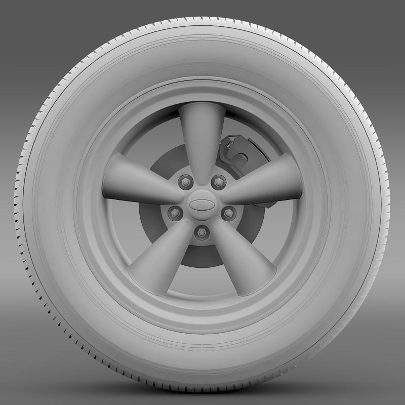 ford_mustang gth 2006 wheel 3d model 3ds max fbx c4d lwo ma mb hrc xsi obj 139866
