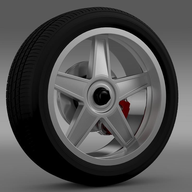 ford_mustang gtr 2005 wheel 3d model 3ds max fbx c4d lwo ma mb hrc xsi obj 139871