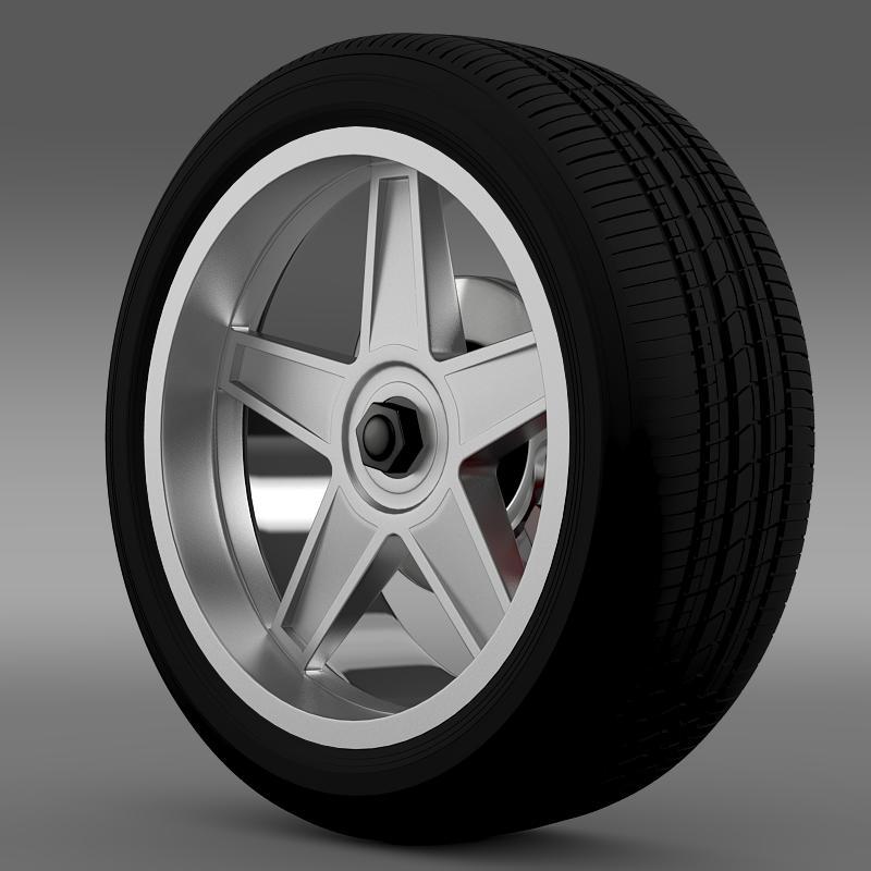 ford_mustang gtr 2005 wheel 3d model 3ds max fbx c4d lwo ma mb hrc xsi obj 139872