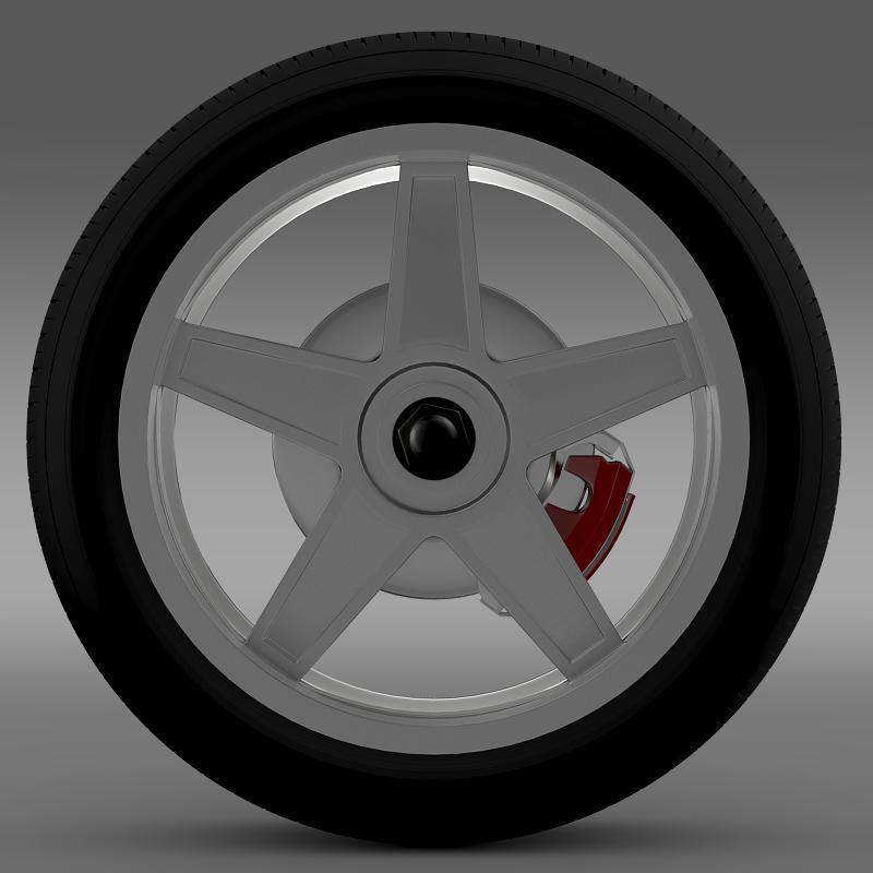 ford_mustang gtr 2005 wheel 3d model 3ds max fbx c4d lwo ma mb hrc xsi obj 139873