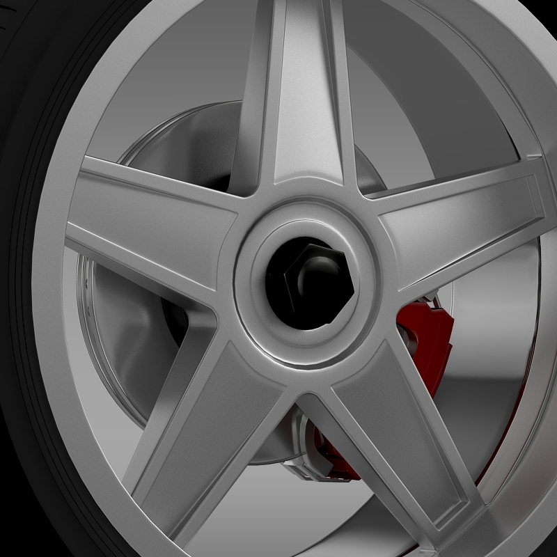 ford_mustang gtr 2005 wheel 3d model 3ds max fbx c4d lwo ma mb hrc xsi obj 139874