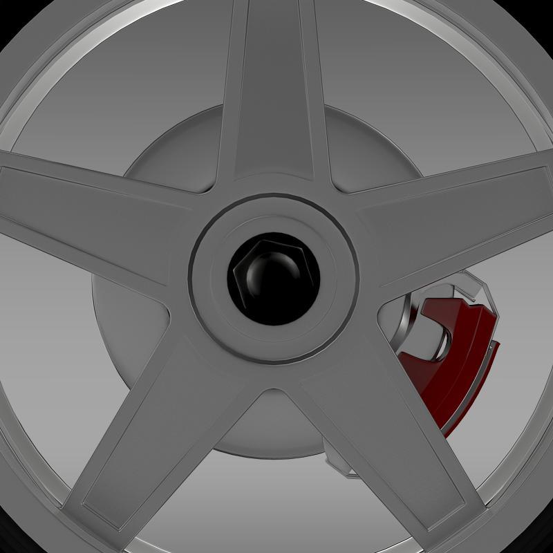 ford_mustang gtr 2005 wheel 3d model 3ds max fbx c4d lwo ma mb hrc xsi obj 139876