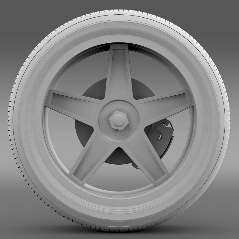ford_mustang gtr 2005 wheel 3d model 3ds max fbx c4d lwo ma mb hrc xsi obj 139879