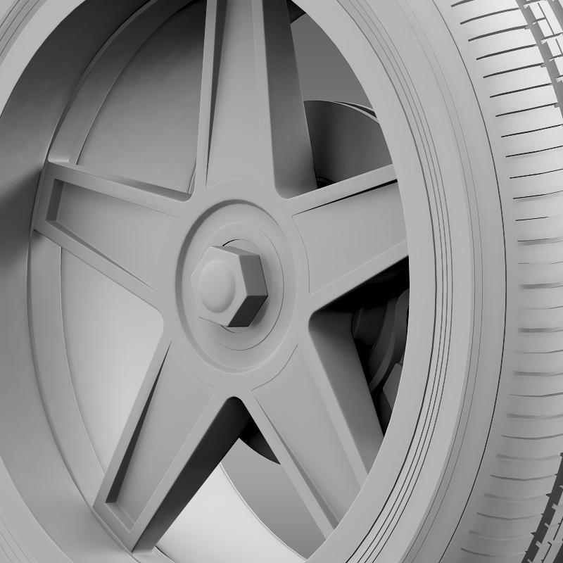 ford_mustang gtr 2005 wheel 3d model 3ds max fbx c4d lwo ma mb hrc xsi obj 139881