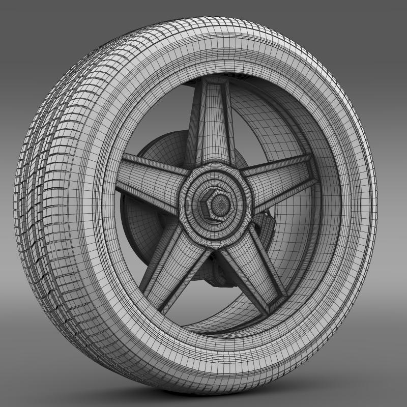 ford_mustang gtr 2005 wheel 3d model 3ds max fbx c4d lwo ma mb hrc xsi obj 139883