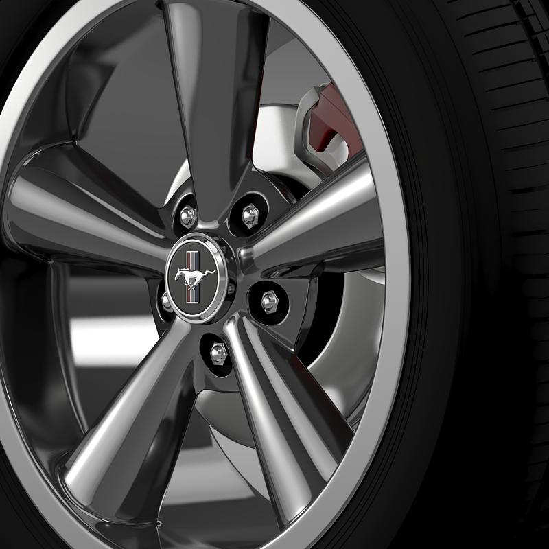 ford_mustang shelby gt convert 2008 wheel 3d model 3ds max fbx c4d lwo ma mb hrc xsi obj 139914