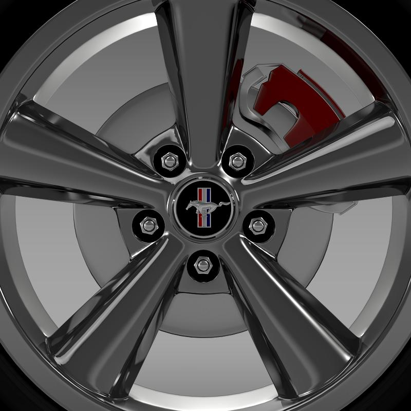 ford_mustang shelby gt convert 2008 wheel 3d model 3ds max fbx c4d lwo ma mb hrc xsi obj 139915