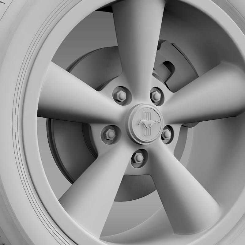 ford_mustang shelby gt convert 2008 wheel 3d model 3ds max fbx c4d lwo ma mb hrc xsi obj 139919