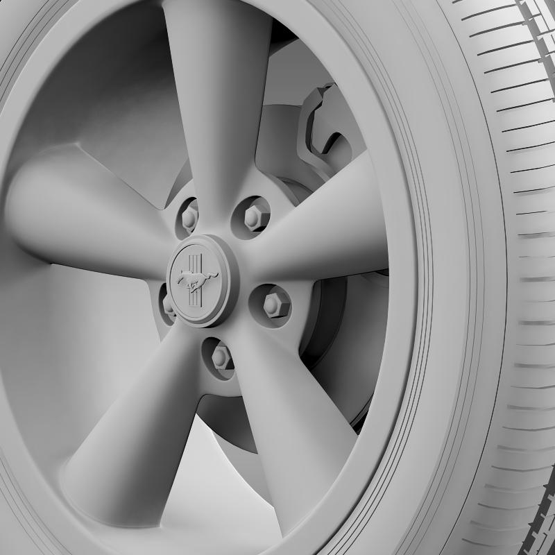 ford_mustang shelby gt convert 2008 wheel 3d model 3ds max fbx c4d lwo ma mb hrc xsi obj 139920