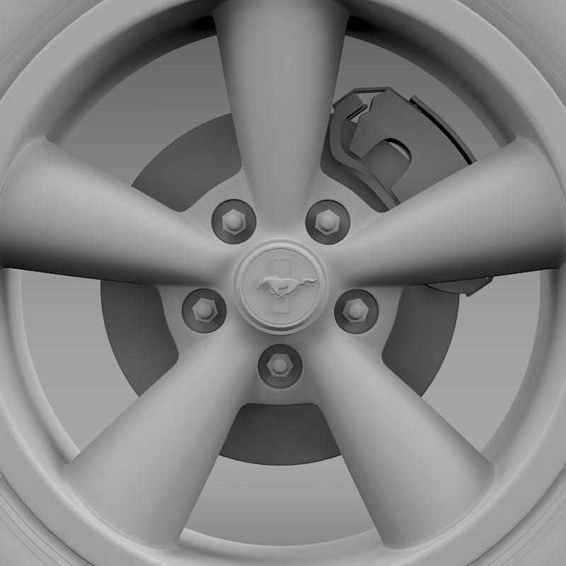 ford_mustang shelby gt convert 2008 wheel 3d model 3ds max fbx c4d lwo ma mb hrc xsi obj 139921