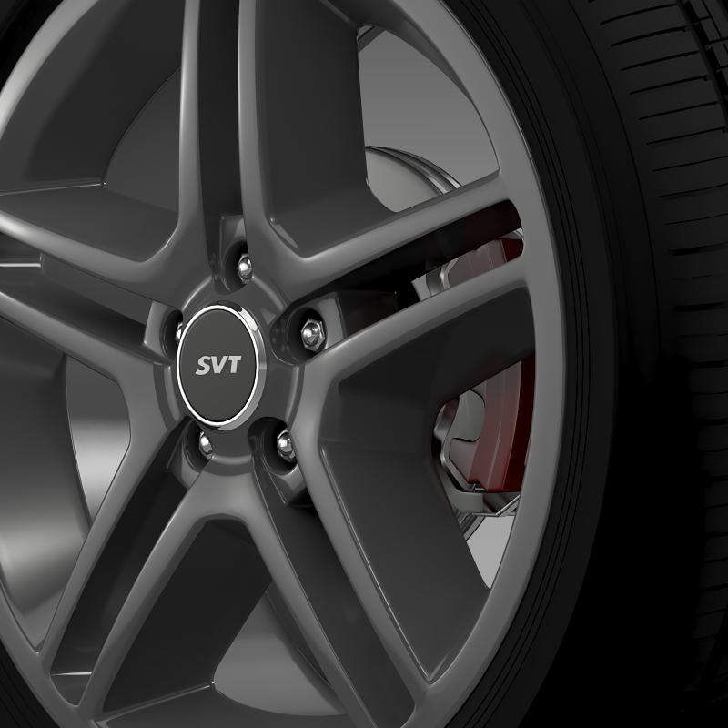 ford_mustang shelby gt500 2010 wheel 3d model 3ds max fbx c4d lwo ma mb hrc xsi obj 139888