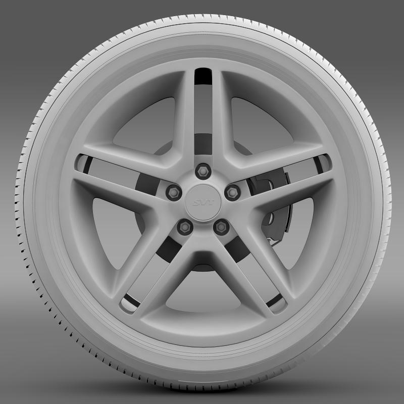 ford_mustang shelby gt500 2010 wheel 3d model 3ds max fbx c4d lwo ma mb hrc xsi obj 139892