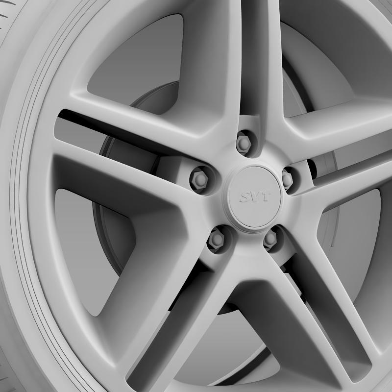 ford_mustang shelby gt500 2010 wheel 3d model 3ds max fbx c4d lwo ma mb hrc xsi obj 139893