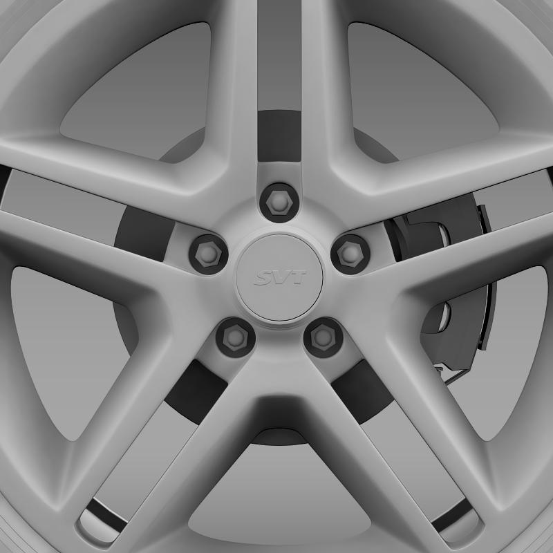 ford_mustang shelby gt500 2010 wheel 3d model 3ds max fbx c4d lwo ma mb hrc xsi obj 139895