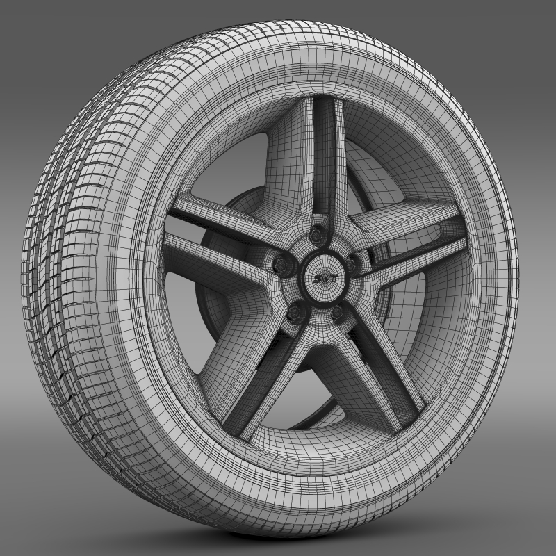 ford_mustang shelby gt500 2010 wheel 3d model 3ds max fbx c4d lwo ma mb hrc xsi obj 139896