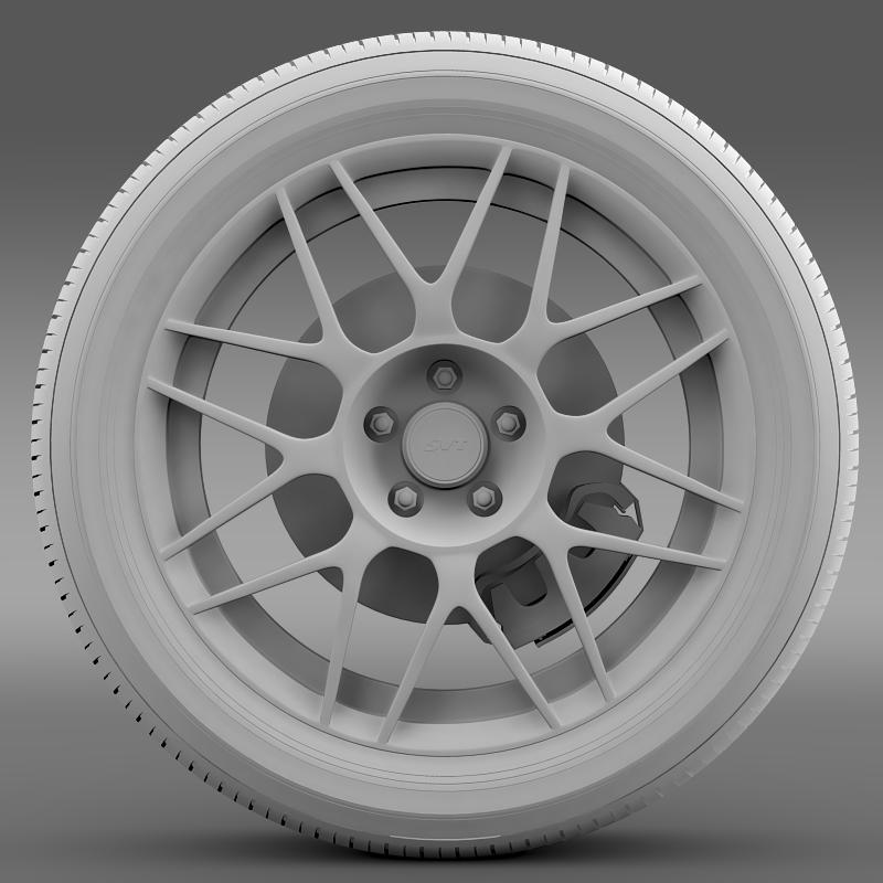 ford_mustang shelby gt500 convertible 2011 wheel 3d model 3ds max fbx c4d lwo ma mb hrc xsi obj 139905