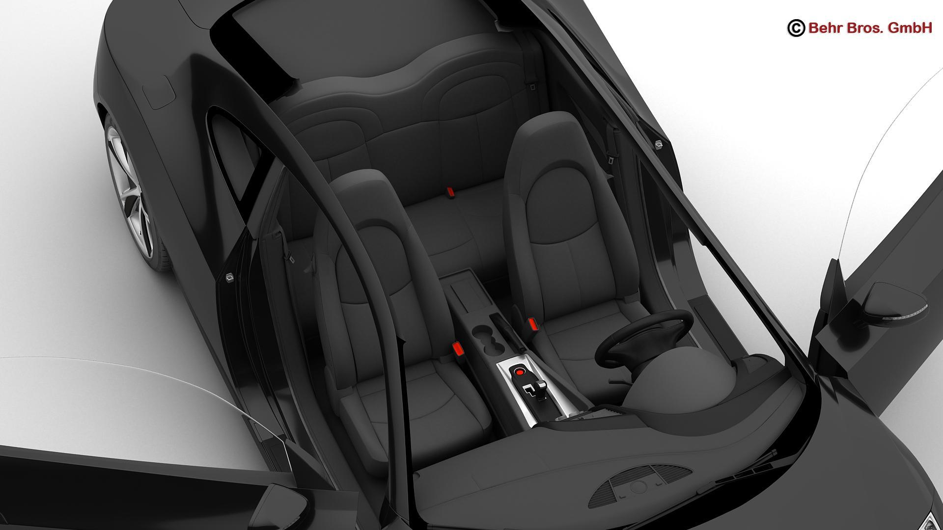 generic sports car 3d model 3ds max fbx c4d lwo ma mb obj 160532