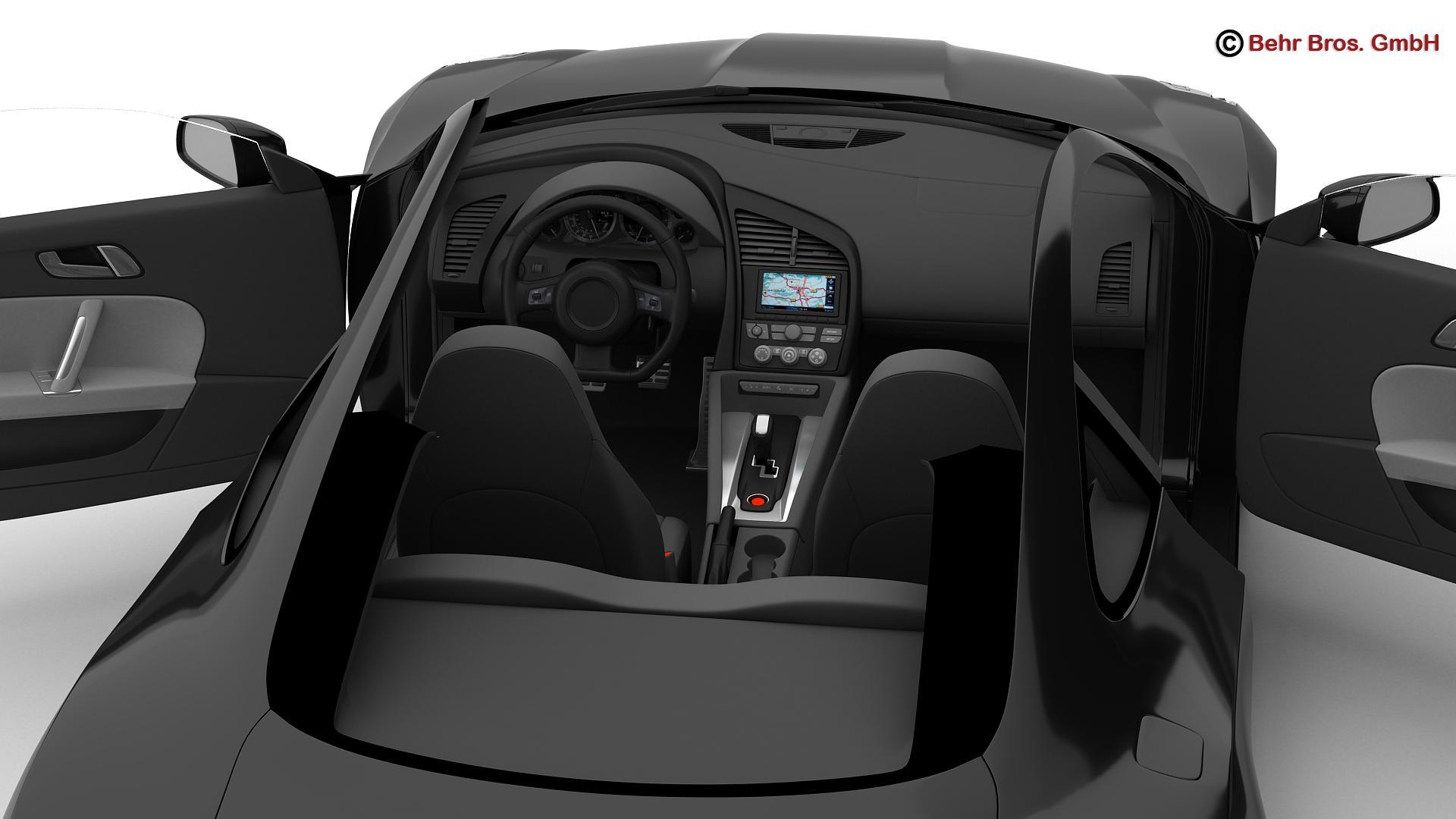 generic sports car 3d model 3ds max fbx c4d lwo ma mb obj 160533