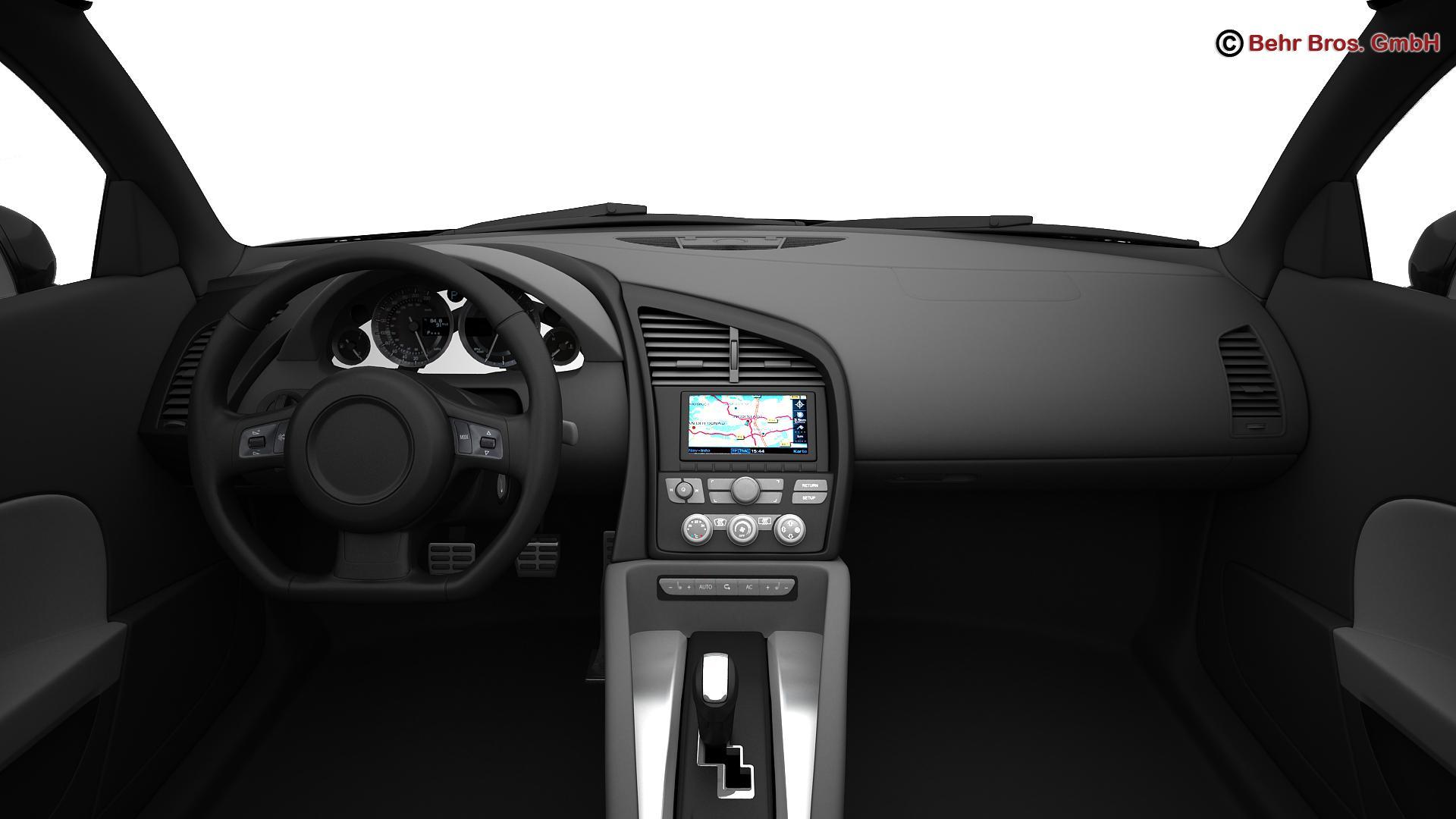 generic sports car 3d model 3ds max fbx c4d lwo ma mb obj 160534