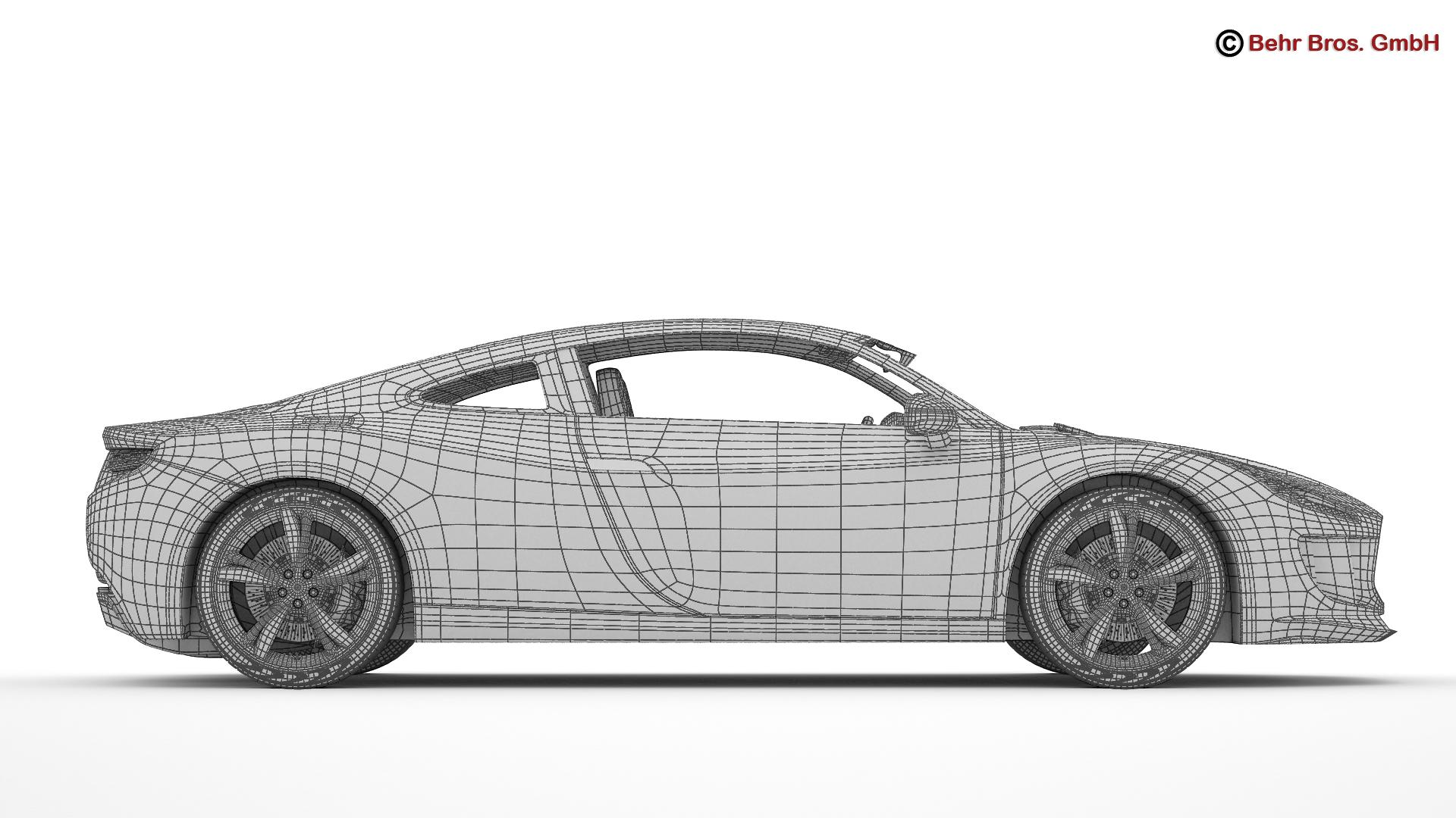 generic sports car 3d model 3ds max fbx c4d lwo ma mb obj 160539