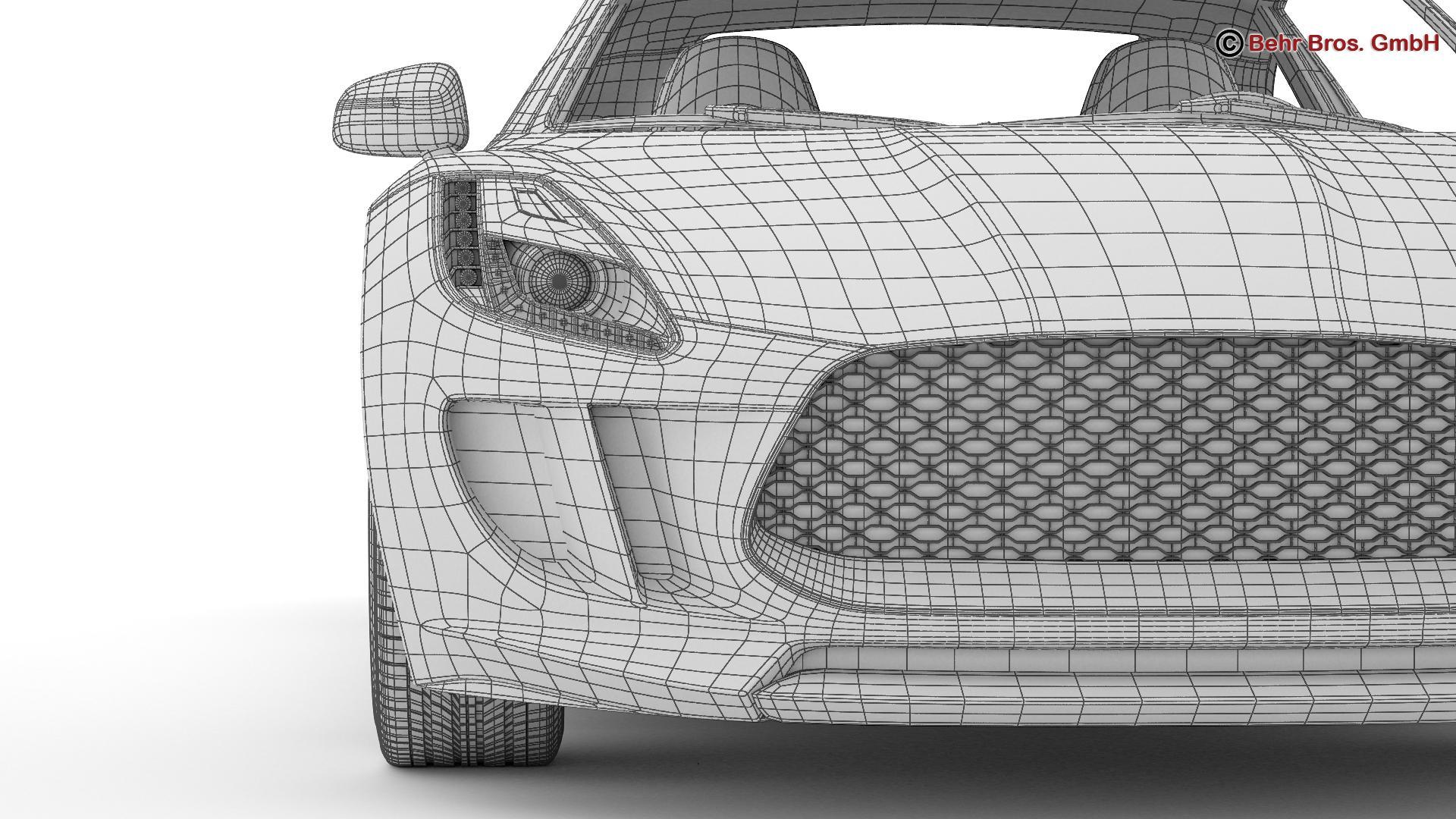 generic sports car 3d model 3ds max fbx c4d lwo ma mb obj 160542