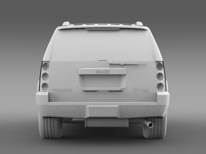gmc denali hybrid 2013 3d model 3ds max fbx c4d lwo ma mb hrc xsi obj 154071