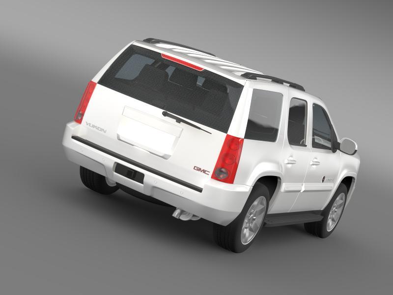 gmc yukon heritage edition 2012 3d model 3ds max fbx c4d lwo ma mb hrc xsi obj 153843