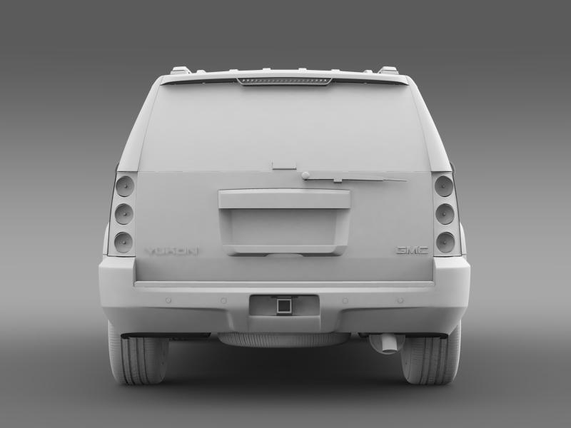 gmc yukon heritage edition 2012 3d model 3ds max fbx c4d lwo ma mb hrc xsi obj 153856