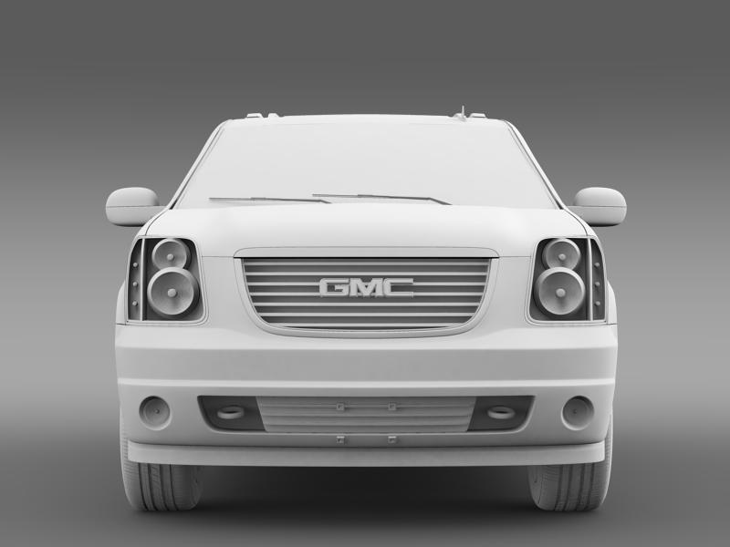 gmc yukon heritage edition 2012 3d model 3ds max fbx c4d lwo ma mb hrc xsi obj 153857