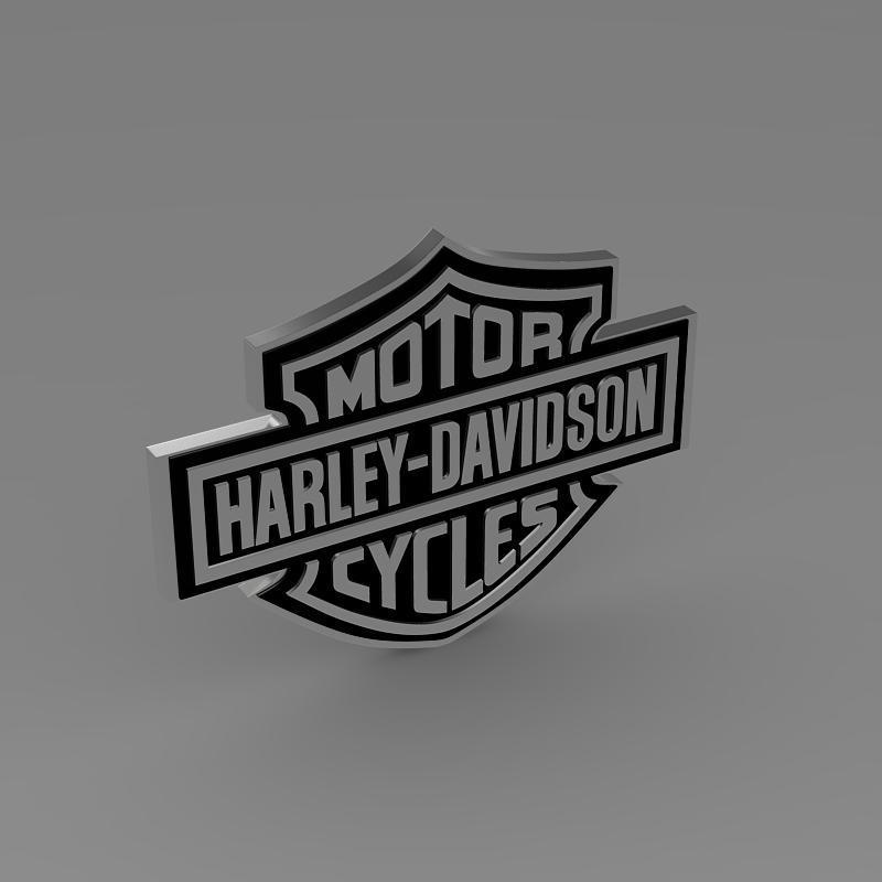 harley-davidson 3d loqosu 3d modeli 3ds max fbx c4d lwo ma mb hrc xsi obj 150270