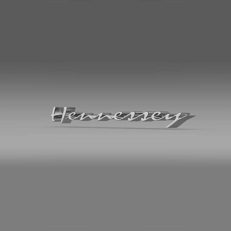 hennesey logo 3d model 3ds max fbx c4d lwo ma mb hrc xsi obj 155266
