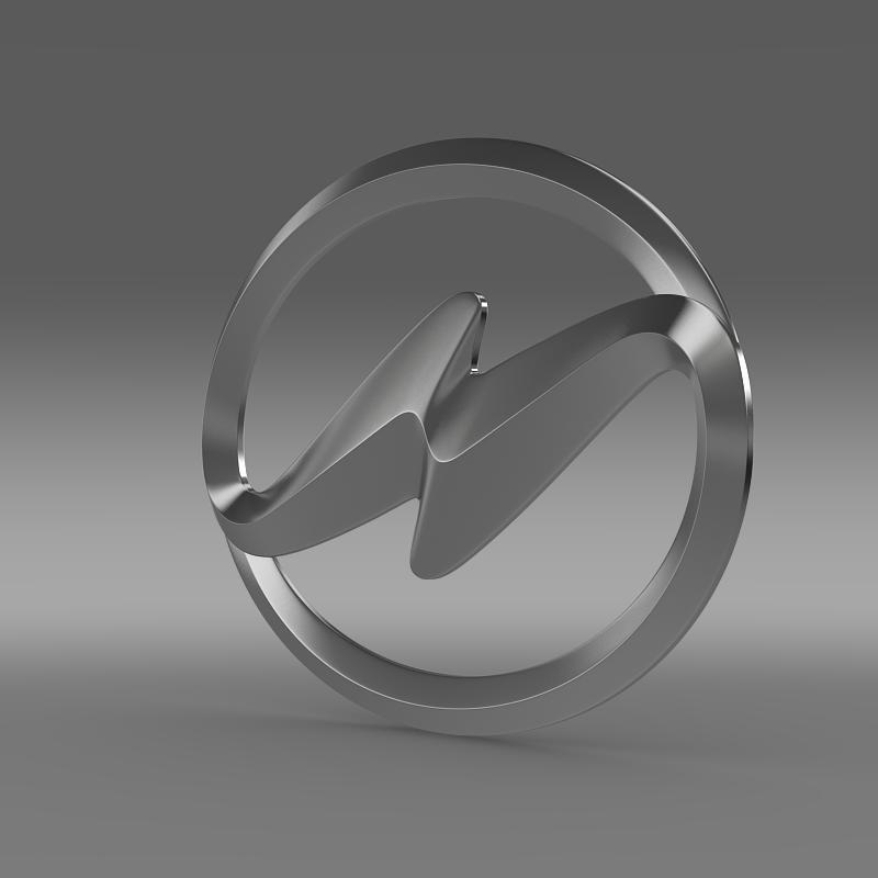 higer logo 3d model 3ds max fbx c4d lwo ma mb hrc xsi obj 162744